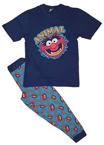 Herren Pyjama Muppets Animal Disney Verschiedene Designs Gr. L, Tier
