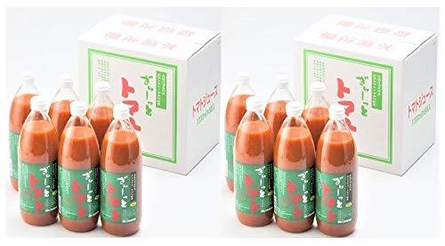 トマトジュース 食塩無添加 国産 トマトジュース 北海道産 ぎゅーっとトマト 無塩 1000ml 12本 北海道 とまとじゅーす 送料 無料