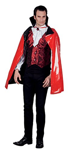 Boland 96915 Plastique Cape bloddy Darkness, One Size