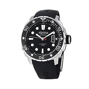 Alpina Adventure AL-525LB4V36 Extreme Diver Black Dial Black Rubber Men's Watch image