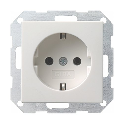 Gira stopcontact 018803 zuiver wit glanzend (0262)