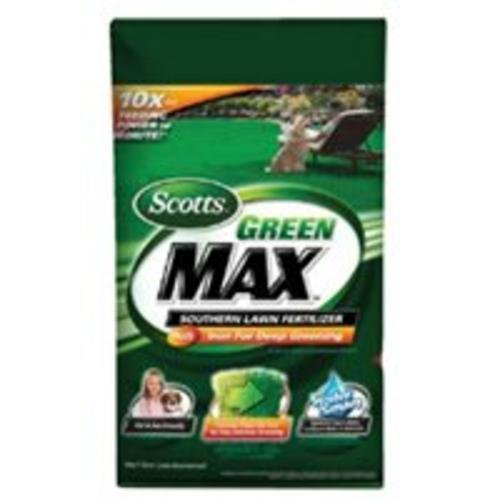 Scotts Lawns 44610 Green Max Southern Lawn Fertilizer, 10,000-Sq. Ft. Coverage - Quantity 1