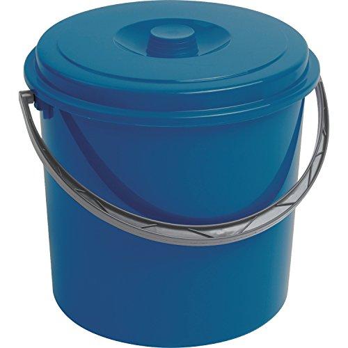 Curver Eimer 12L mit Deckel blau