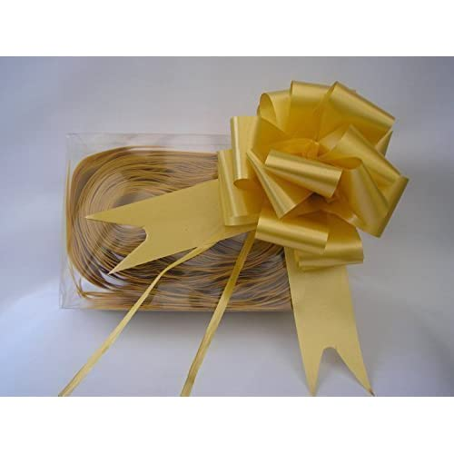 """Pull Bows 4/"""" Wide When Formed 30mm Gift Wrap Wedding Craft"""