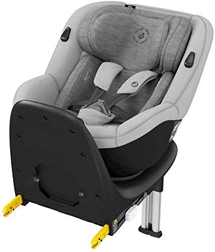 Bébé Confort Mica, seggiolino auto girevole, ISOFIX, dalla nascita a 4 anni, schiena stradale I size, Authentic Grey