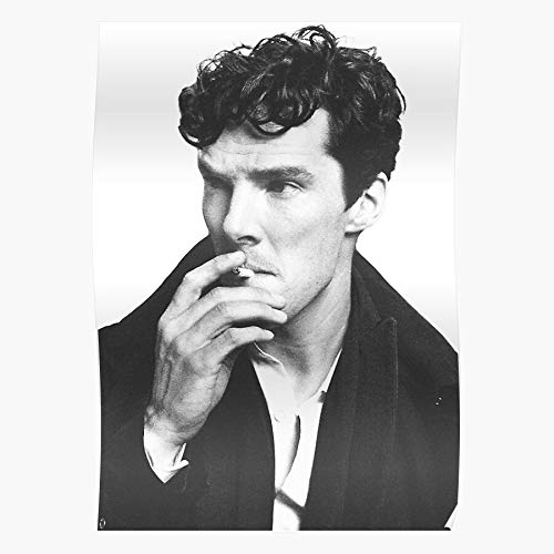 Hardymedicalsupplies Sherlock Benedict BBC Portrait Holmes Cumberbatch Fandom Home Decor Wandkunst drucken Poster !