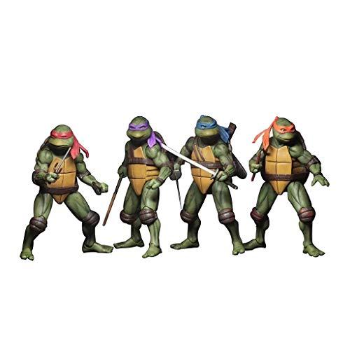 4 stück teenage mutant ninja turtles spielzeug action-figuren modell set