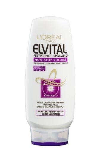 L'Oréal Paris Elvital Lot de 6 flacons de déshumidification sans Stop Volum 200 ml