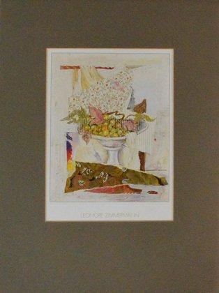 Germanposters Leonore Zimmermann Stillleben mit Obstschale Poster Kunstdruck Bild 40x30cm