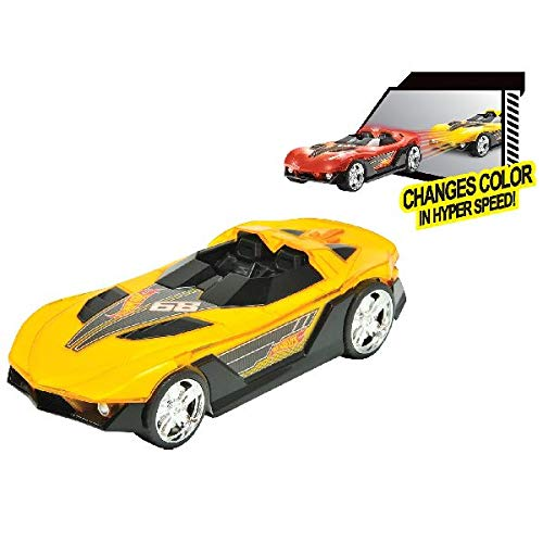 Toy State- Hot Wheels Cars Coches con luz y Sonidos Cruisers Time Tracker (90603)