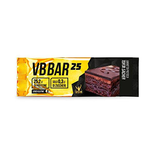 VB Bar 25 Protein Bar NET box 24x50g. gusto Torta Sacher