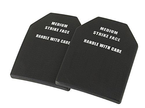 LOBOLOKO ZWEIERPACK Dummy SAPI Platten/Einlagen Kunststoff Set 2 Stück für Westen und Plattenträger Carrier Platten