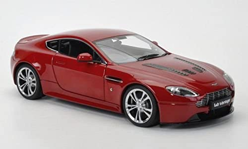 Aston Martin V12 Vantage, dkl.-rot, 2010, Modellauto, Fertigmodell, AUTOart 1 18