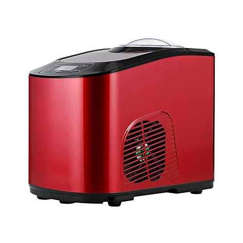 Intelligente ijsmachine voor zelfkoelende ijsmachine, thuisgebruik, LCD-display van roestvrij staal, 1,4 kg. Netto