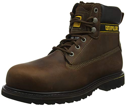 Caterpillar Cat Holton Botas de trabajo Hombre, Marrón (Brown 003), 46 EU (12 UK)