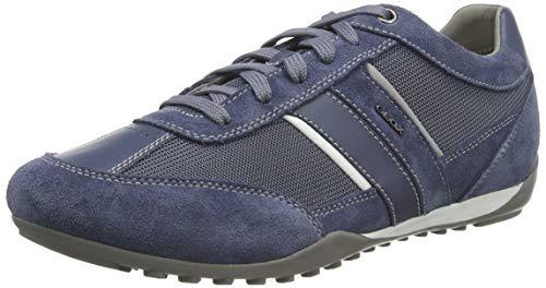 Geox U Wells C, Zapatillas para Hombre, Azul (Lt Avio C4348), 41 EU