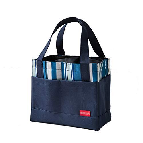 Draagbare geïsoleerde tas, lunchpakket Oxford-doek met trekkoord, isolatiebox