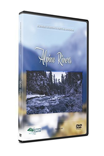 Relaxing Nature DVD - Alpine Rivers - with Mountain Scenery and Soothing...
