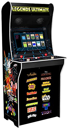 At Games Legends Ultimate 300 Game Arcade Machine, Full Size Retro Gaming,...