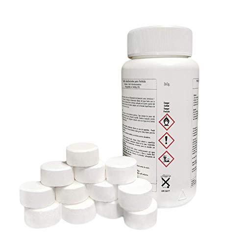 AquaFinesse Chlortabletten Reinigungstabletten für Whirlpool - Hot Tubs 360g (18 X 20g Tabletten)