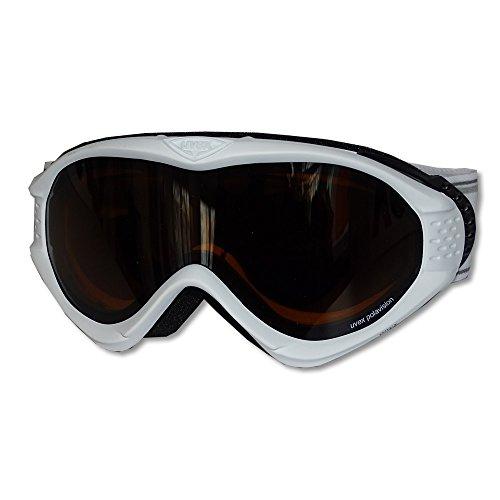 Uvex Onyx Pola - Skibrille / Schneebrille, Farbe: white mat