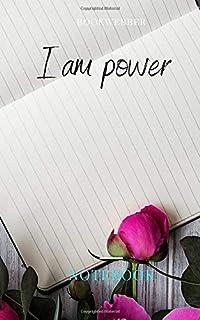 I am power: Notebook