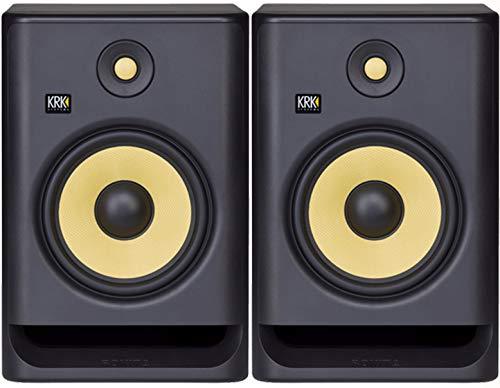 KRK Rokit 8 G4 Studio Monitor Speaker Bundle - Pair