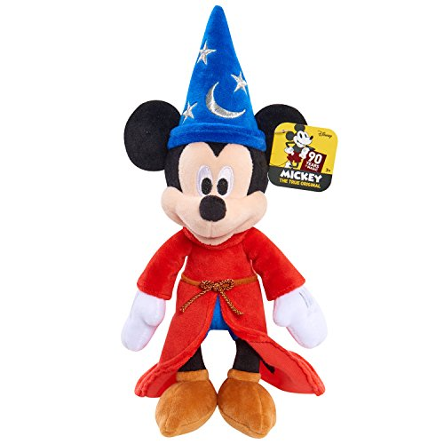 "Mickey 90th Disney Beans Plush 8"" - Sorcerer"
