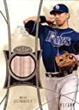 2014 Topps Tier One Relics #TOR-BZ Ben Zobrist Game Used Bat Baseball Card - Only 399 made! - Near Mint to Mint