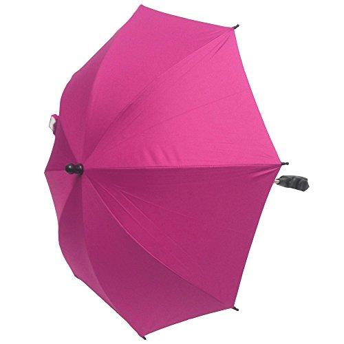 Baby Sonnenschirm für alle Kinderwagen/Buggys–Pink
