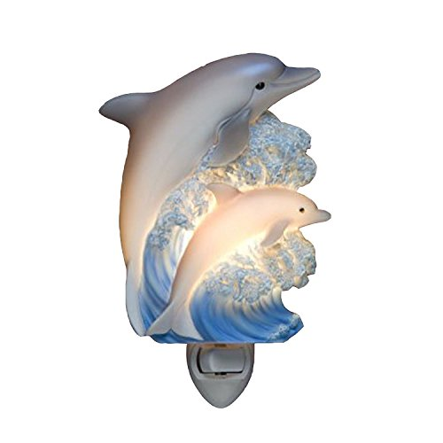 Dolphins Night Light Ibis & Orchid Designs