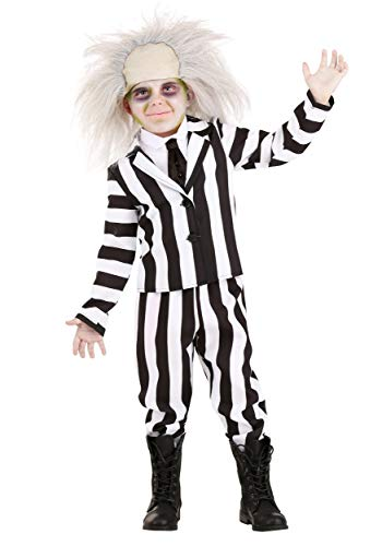 High Quality Toddler Beetlejuice Costume in 4 Sizes.