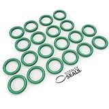 Totally Seals® 8 mm x 2,5 mm (13 mm OD) Verde FKM (Viton™) juntas tóricas métricas, dureza de 75 A, paquete de 20