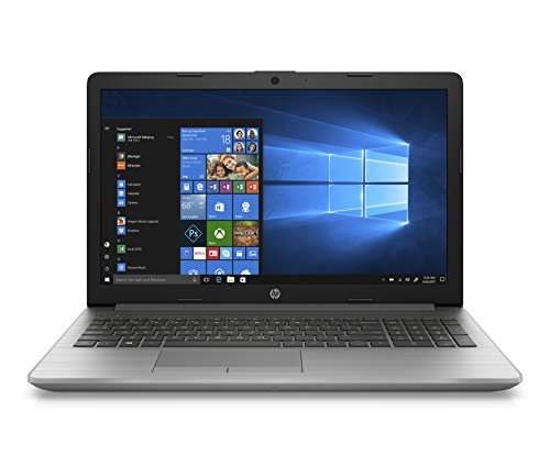 HP 250 G7 (15,6 Zoll / FHD) Business Laptop (Intel Core i7-1065G7, 8GB DDR4 RAM, 512GB SDD, Intel HD Grafik, DVD-Writer, Windows 10 Home) Silber