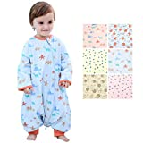 Beyond Your Thoughts Baby 100% Cotton Wearable Blanket Baby Sleeping Bag Spring/Autumn/Winter (3mos-6.5year)