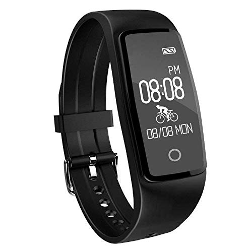 Activity Tracker,Yamay Fitness Tracker Watch Heart Rate Monitor Waterproof IP67 Fitness Wristband Pedometer Smart Watch Bracelet Step Counter for Men Women Call SMS Whatsapp Push for Android iOS Phone