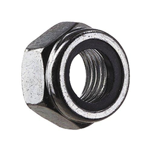 SECOTEC Sicherungsmutter mit Polyamideinlage | DIN 985 | verzinkt | M6 | 100 Stück