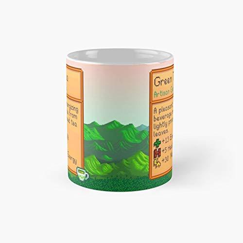 Stardew Valley - Taza clásica de té con el mejor regalo, tazas de café divertidas, 11 oz
