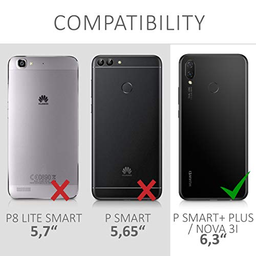 kwmobile Huawei P Smart+ (2018) / Nova 3i Hülle - Handyhülle für Huawei P Smart+ (2018) / Nova 3i - Handy Case in Rosegold - 6