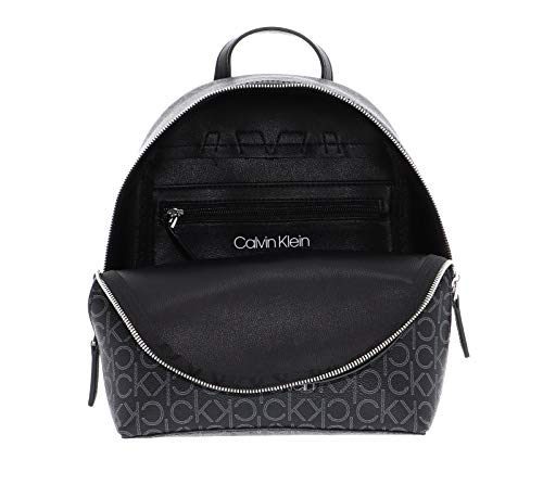 41Ojrn2R GL - Calvin Klein Small Backpack CK Mono Small Backpack Black Mix