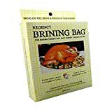 Regency Wraps Brining Bag for Making Juicy, Flavorful Turkey, Heavy Duty Clear, 1 pack