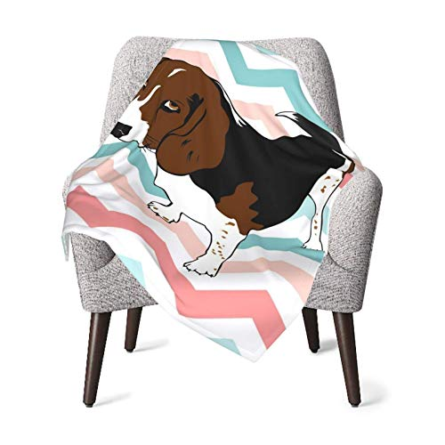 XCNGG Baby Blanket, Brown Sad Dog Toddler Fleece Blankets for Travel Decorative Super Soft Plush Receiving Blankets 40x30 Inch