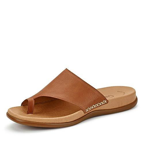 Gabor Shoes Damen Jollys Pantoletten, Braun (Peanut 24), 40 EU