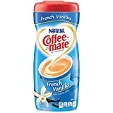 COFFEE MATE French Vanilla Powder Coffee Creamer 15 Oz. Canister | 6 Pack | Non-dairy, Lactose Free,...