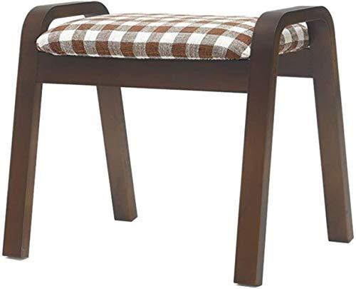 FZWAI Massief houten eetkamer ruimte kruk stof dressing fashion make-up bench volwassen huishouden modern
