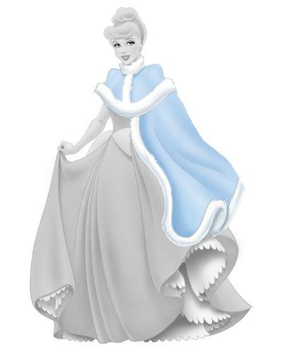 FUN HOUSE - 712013 - Ameublement et Décoration - Sticker Geant Disney - Princesse Cinderella Holiday Add On