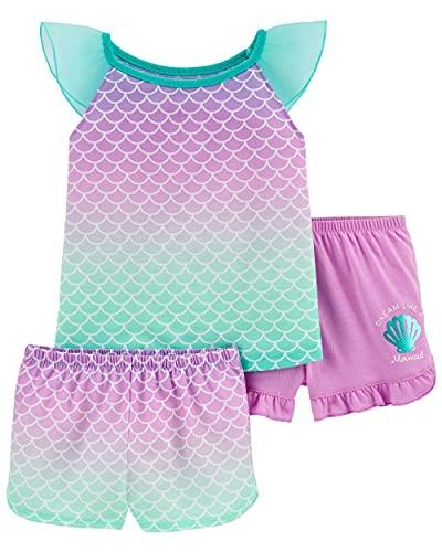 Carter's 3-Piece Poly Pajama Set (Mermaid, 5t)
