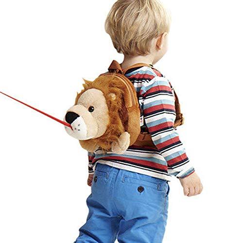 chenyu Toddler Sac à Dos avec rênes Sangle Anti-Perte Maman Helper Kid Enfant Keeper Anti-Perte Sangle de sécurité de Voyage bébé Harnais/Laisse Lion