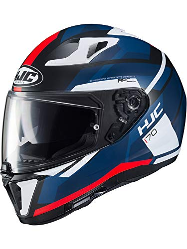 Blanc L Motorcycle helmets HJC C70 White Pearl//PEARL WHITE