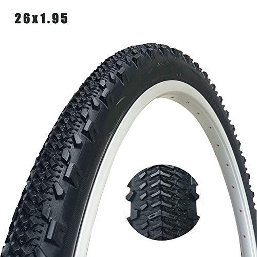 MILECN 26'X 1,95 Neumáticos De Bicicleta Resistentes A Pinchazos,Neumáticos De Bicicleta para Carretera De Montaña Neumáticos De Bicicleta Híbridos Repuestos Accesorios